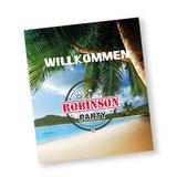 Willkommenblatt Robinson party
