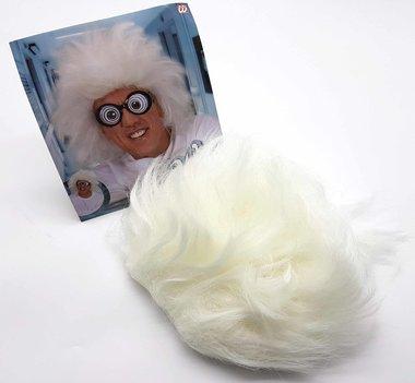 Weiße Perücke Professor